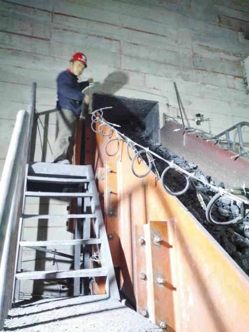 甘肅金徽礦業有限責任公司 安裝現場